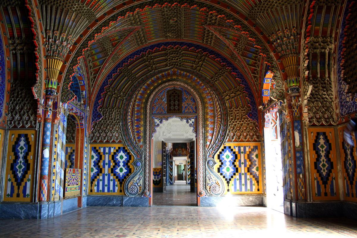 Castel Sammezzano, interno