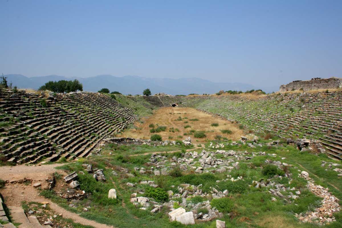 Lo stadio di Afrodisia