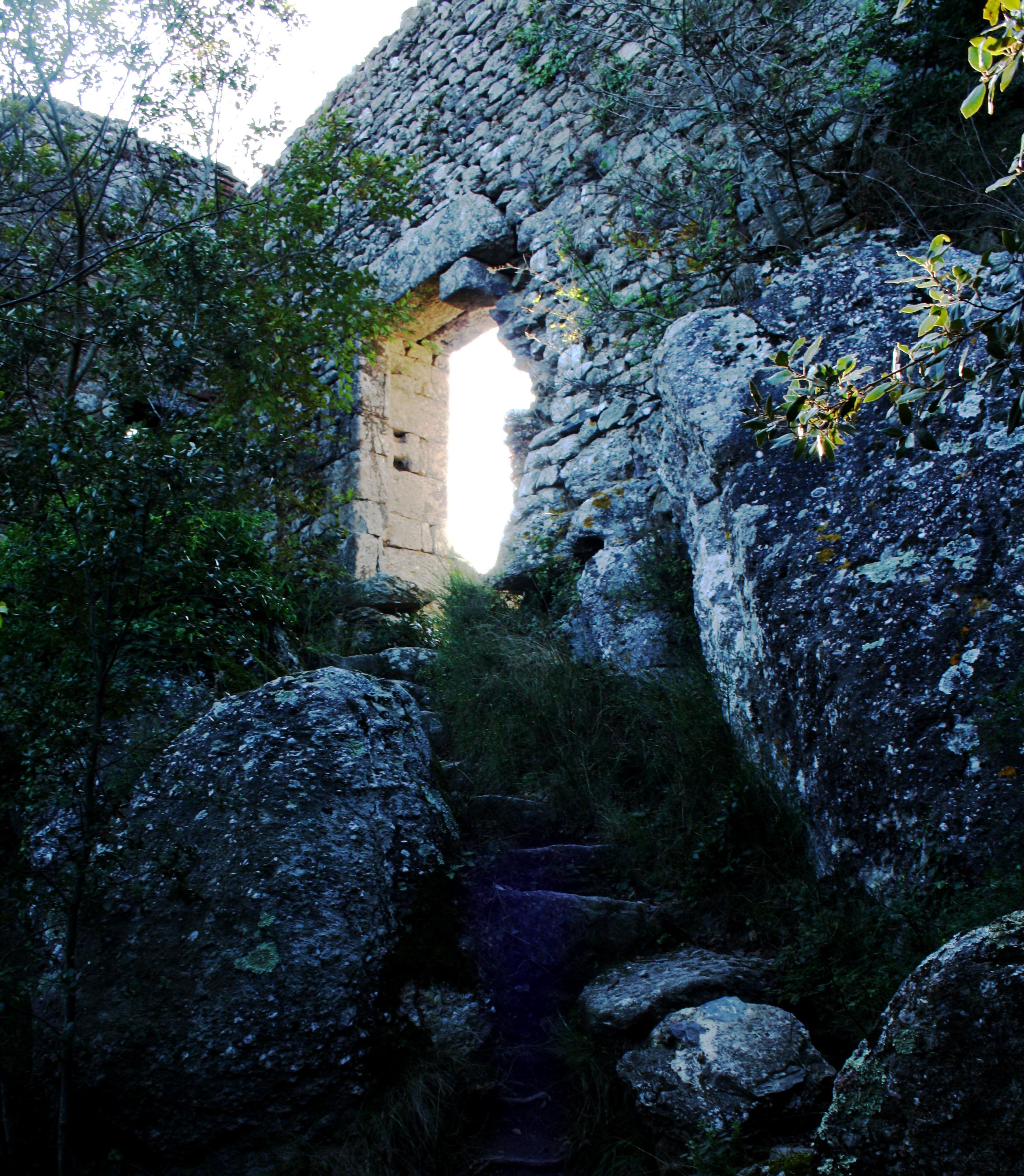 ingresso, La Rocca della Verruca