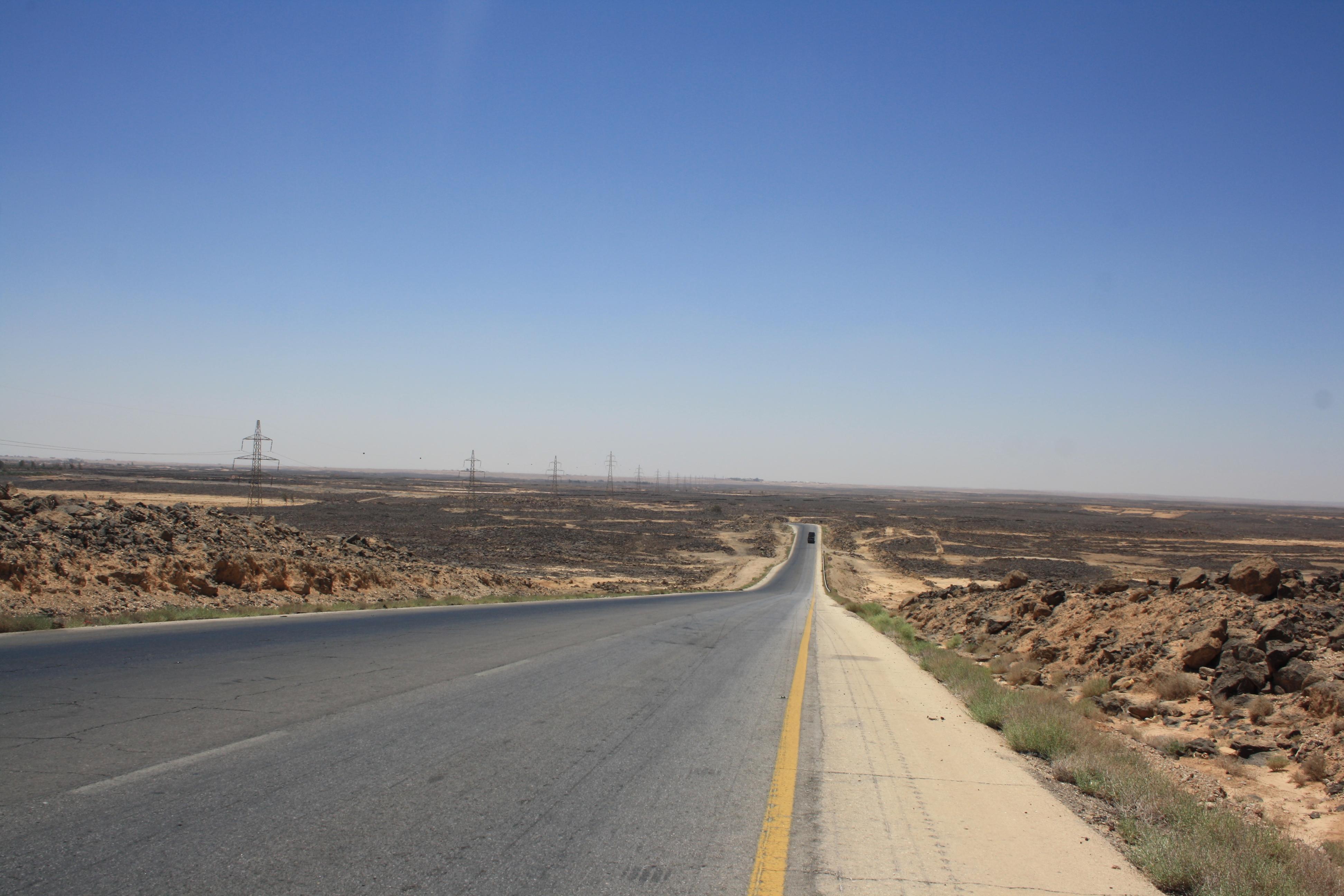 il deserto di basalto nero