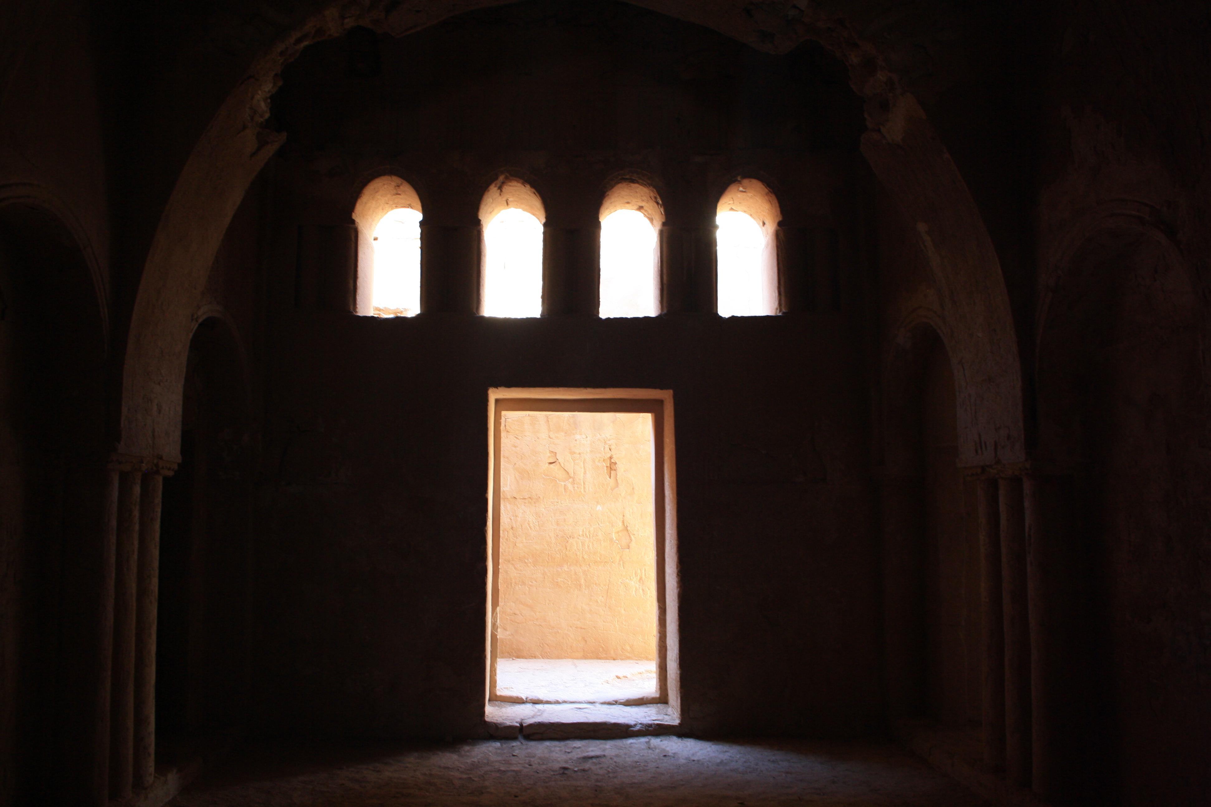 Qasr Kharana (interno), I castelli del deserto orientale