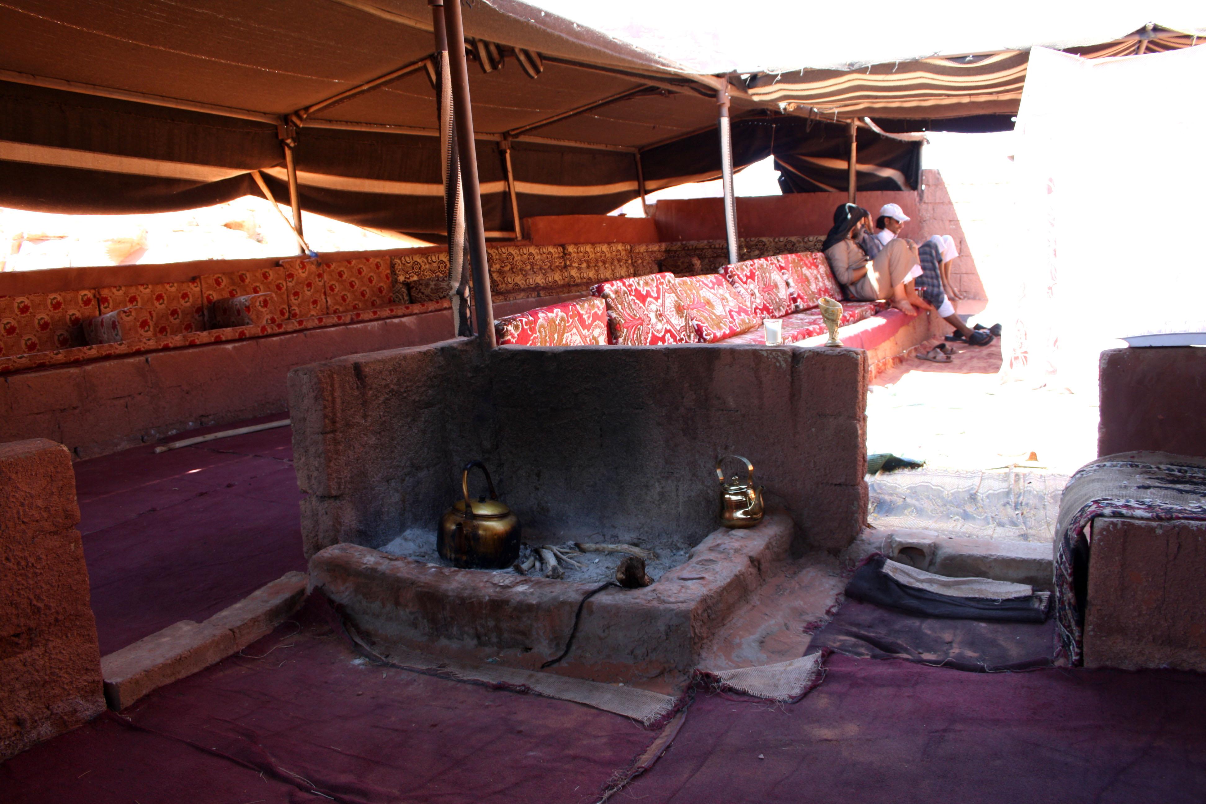 Il tè beduino