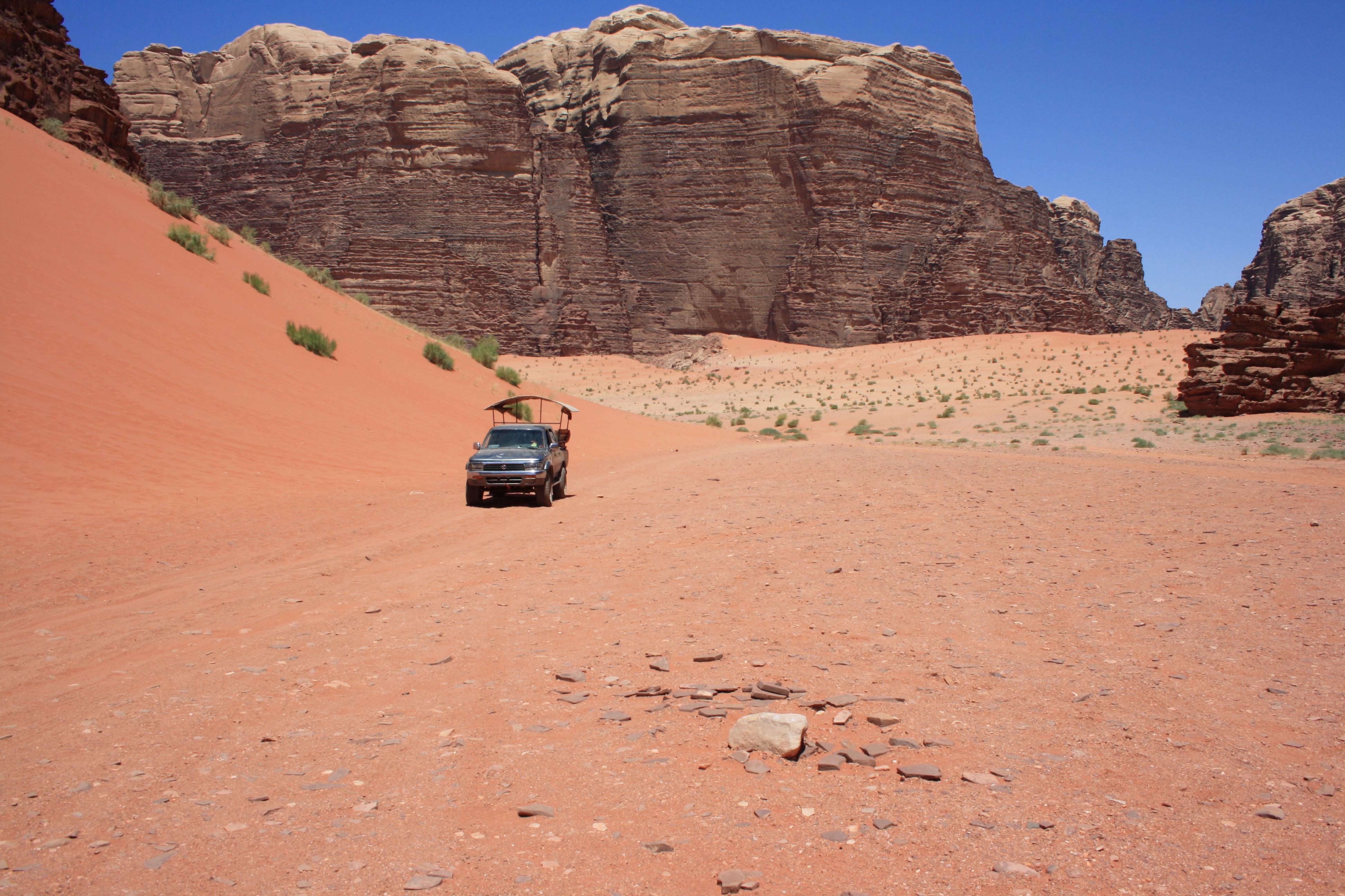 la grande duna (sulla sinistra)