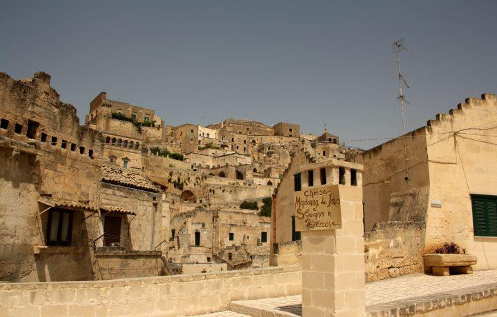 La città dei sassi: Matera