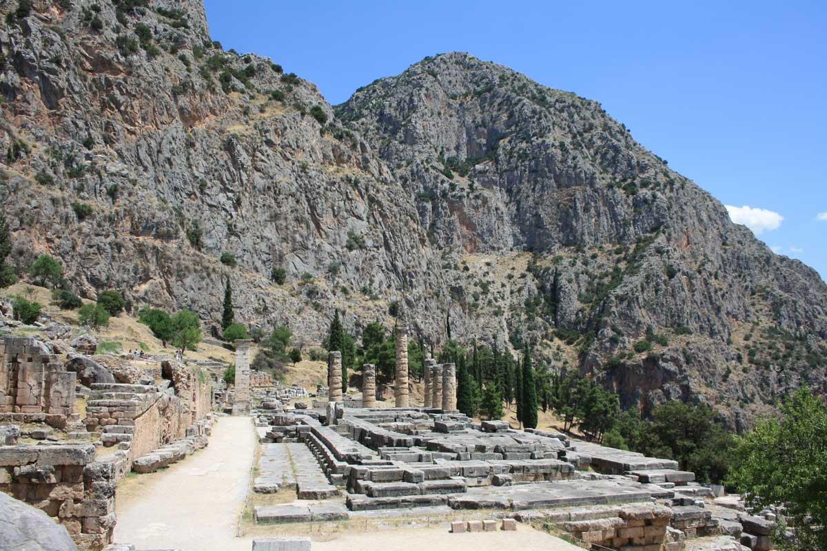 Tempio di Apollo, Delfi