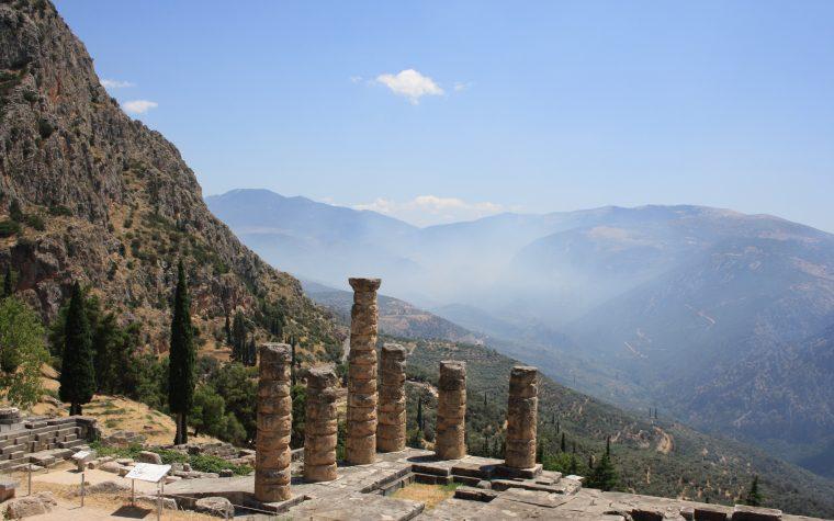 Delfi: l'ombelico del mondo antico