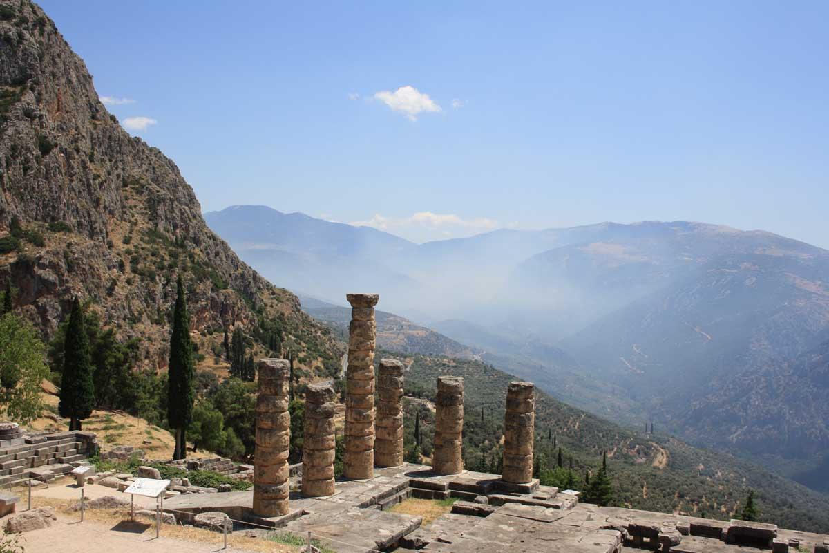 I siti archeologici più belli: Delfi