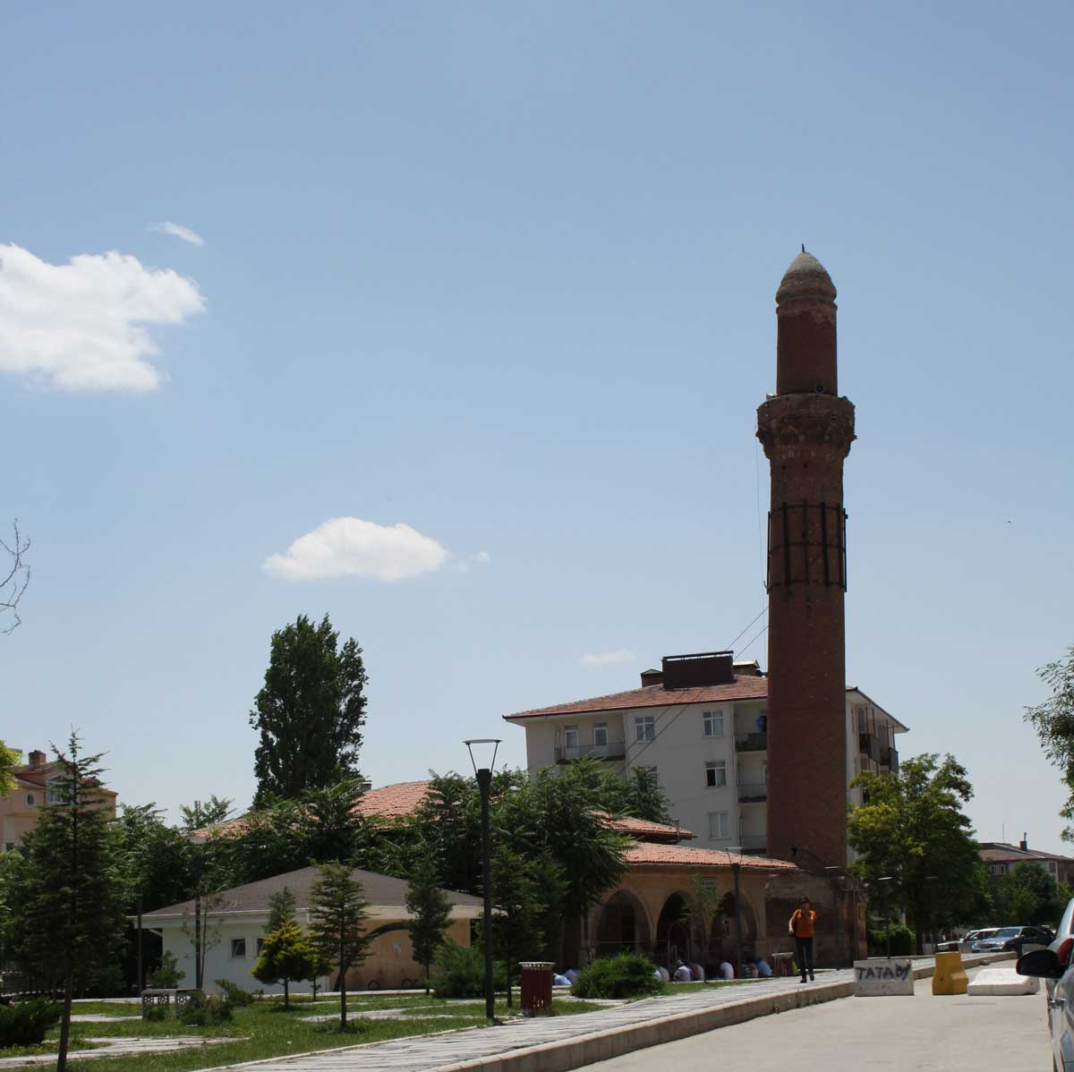 Il minareto pendente di Aksaray, Tuz Gölü