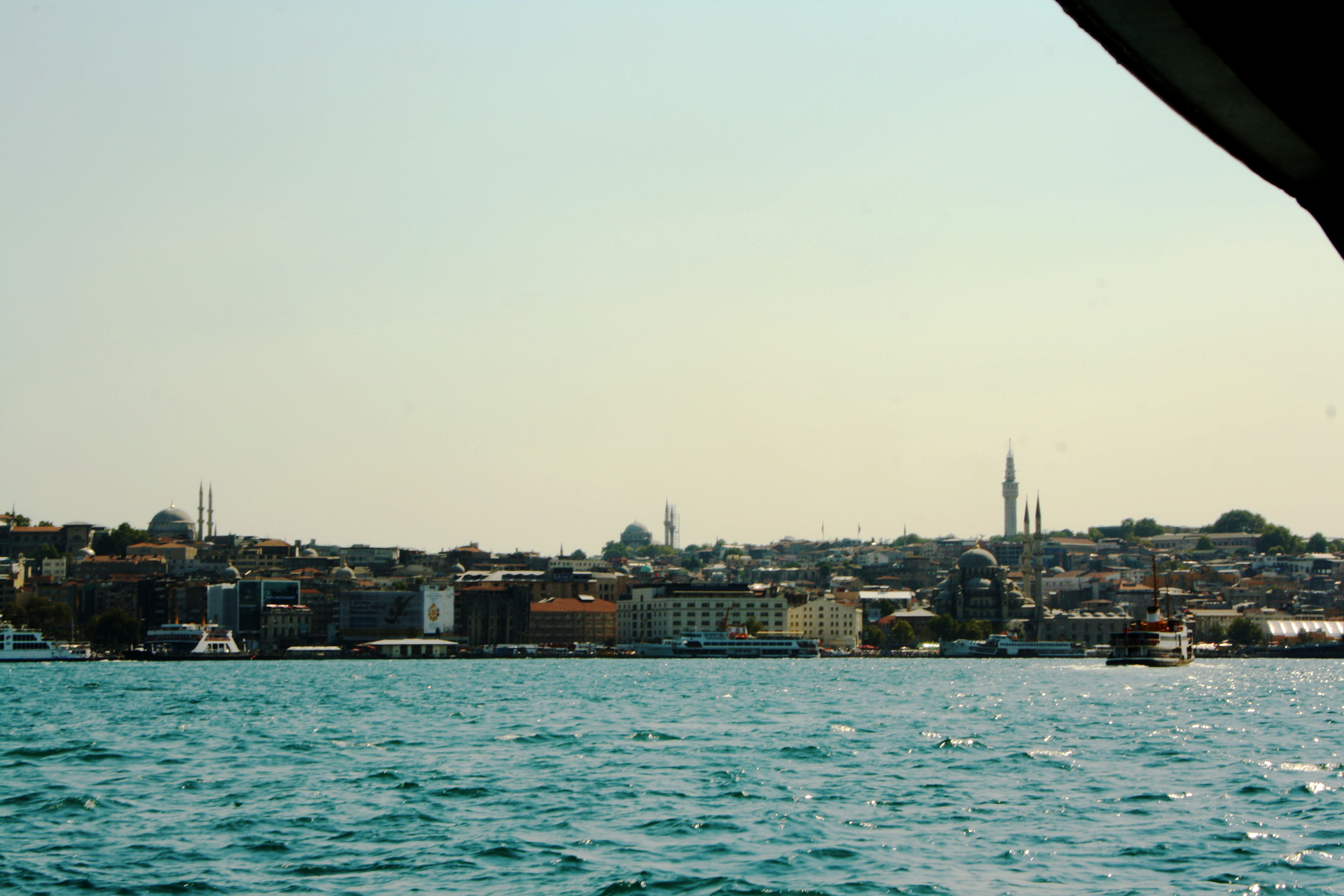 Istanbul dal Bosforo