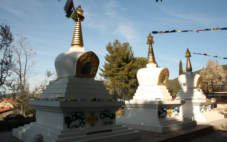 Un monastero buddista in Toscana