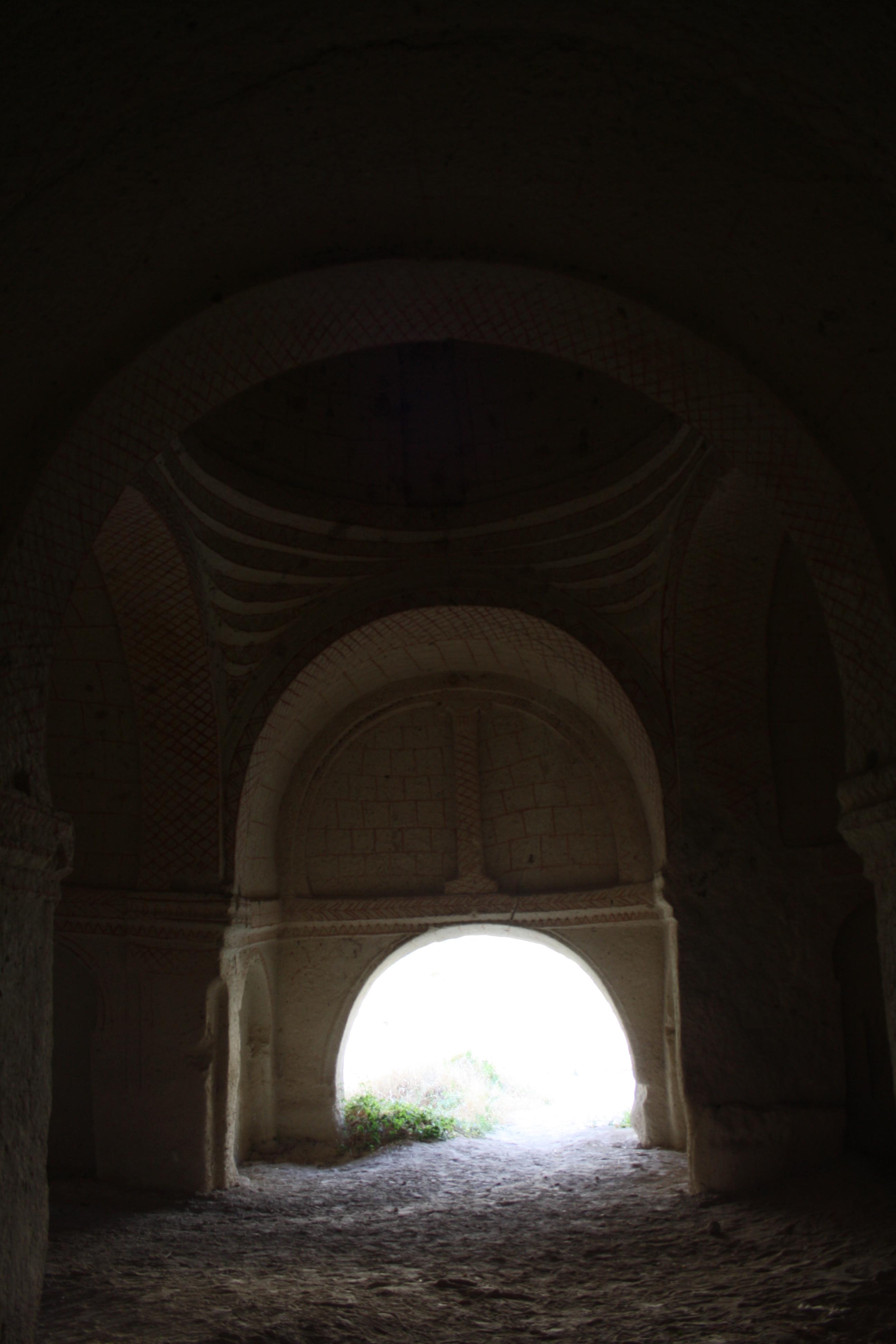interno di una chiesa rupestre