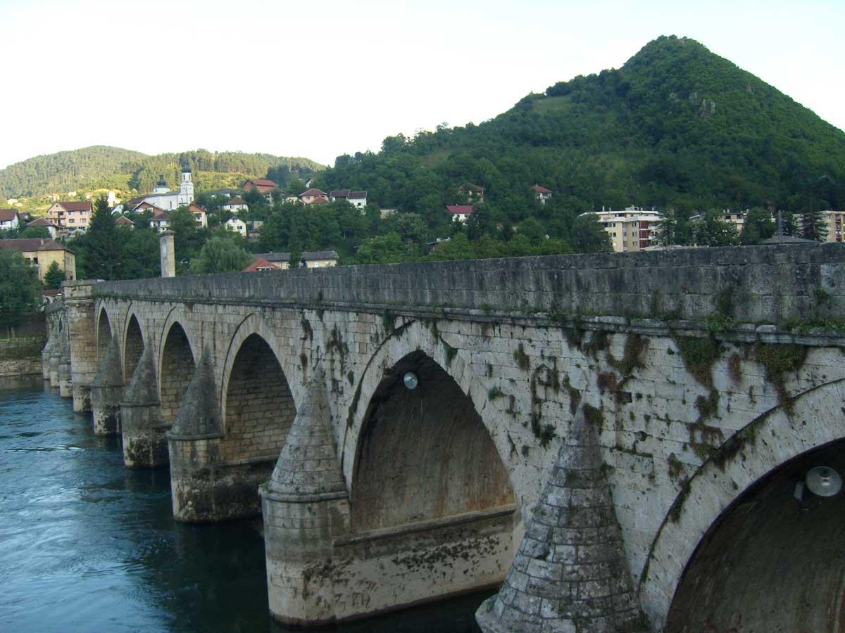 Perchè visitare la Bosnia, il Ponte sulla Drina di Visegrad