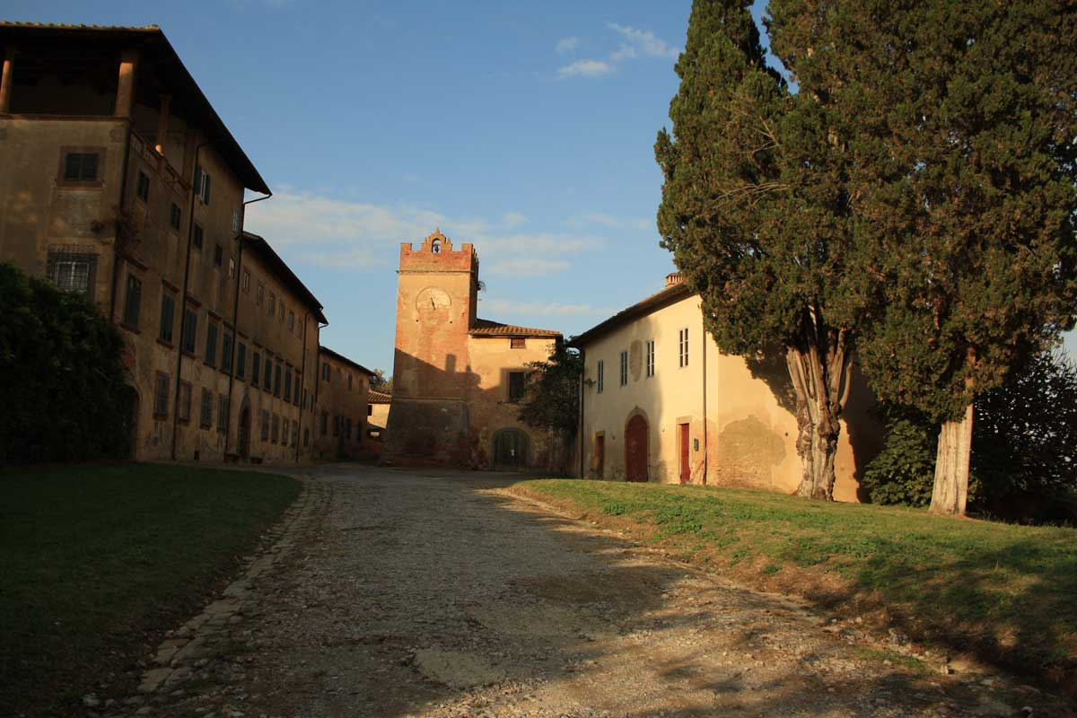 Ghost town in Toscana, Villa Saletta