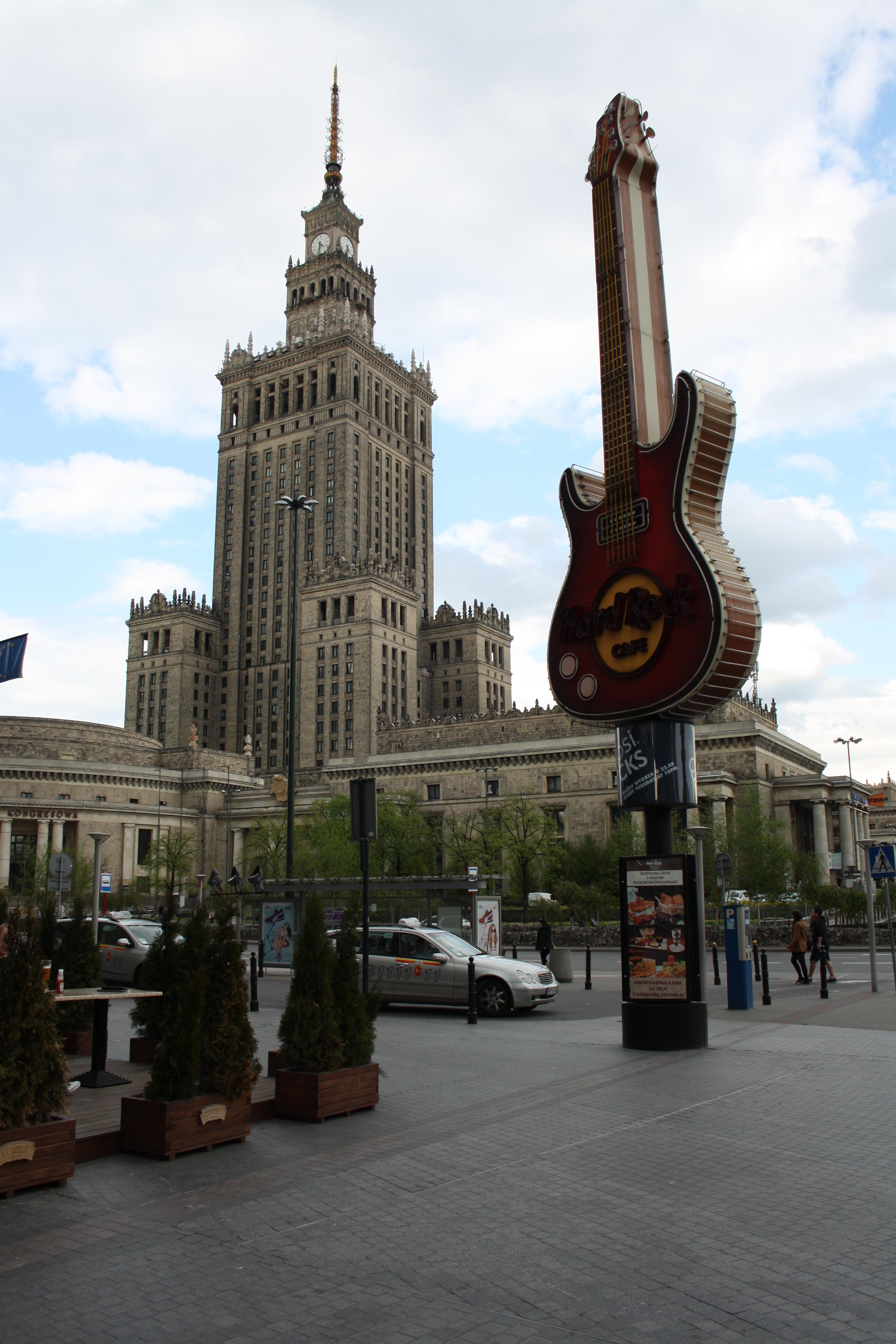 Palazzo della Cultura, Varsavia