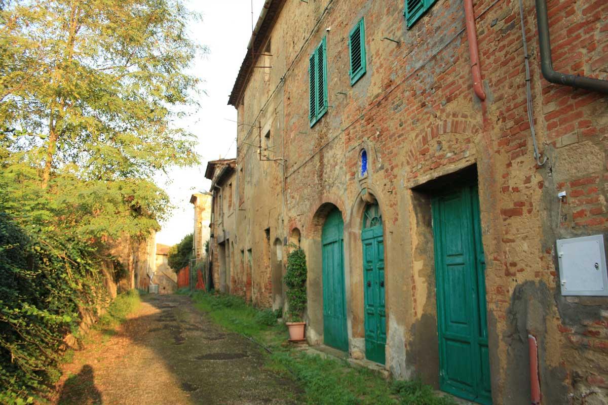 Città fantasma in Toscana, Toiano