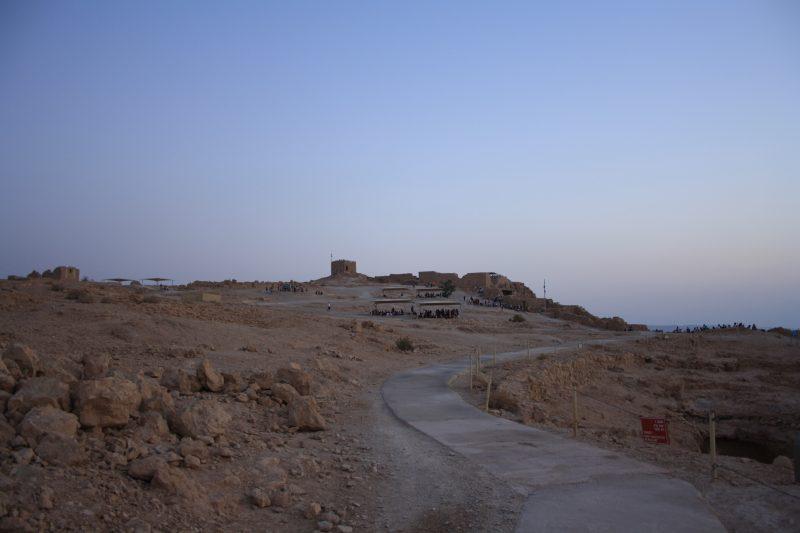 Una fortezza sul Mar Morto: Masada
