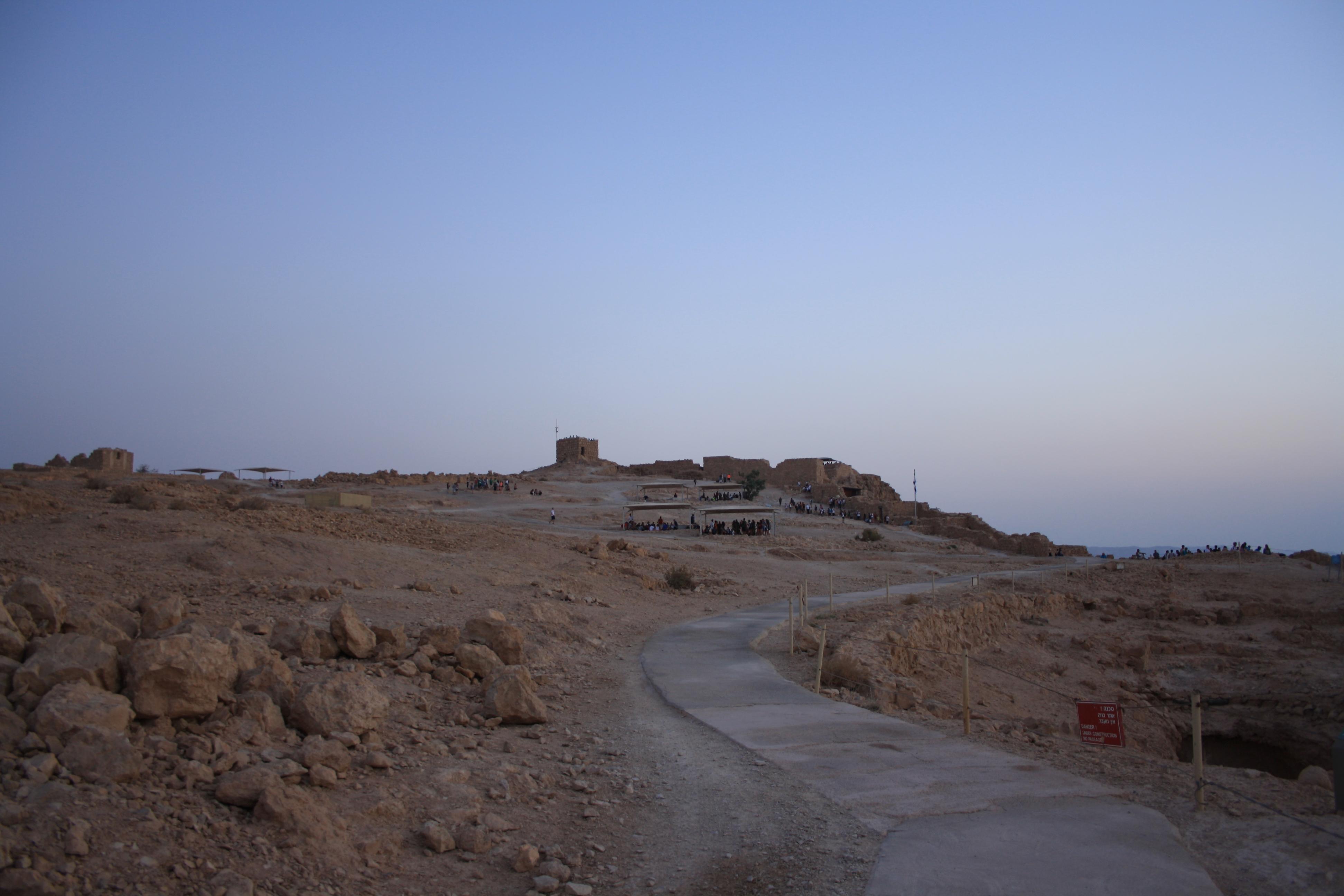 Alba a Masada (1)