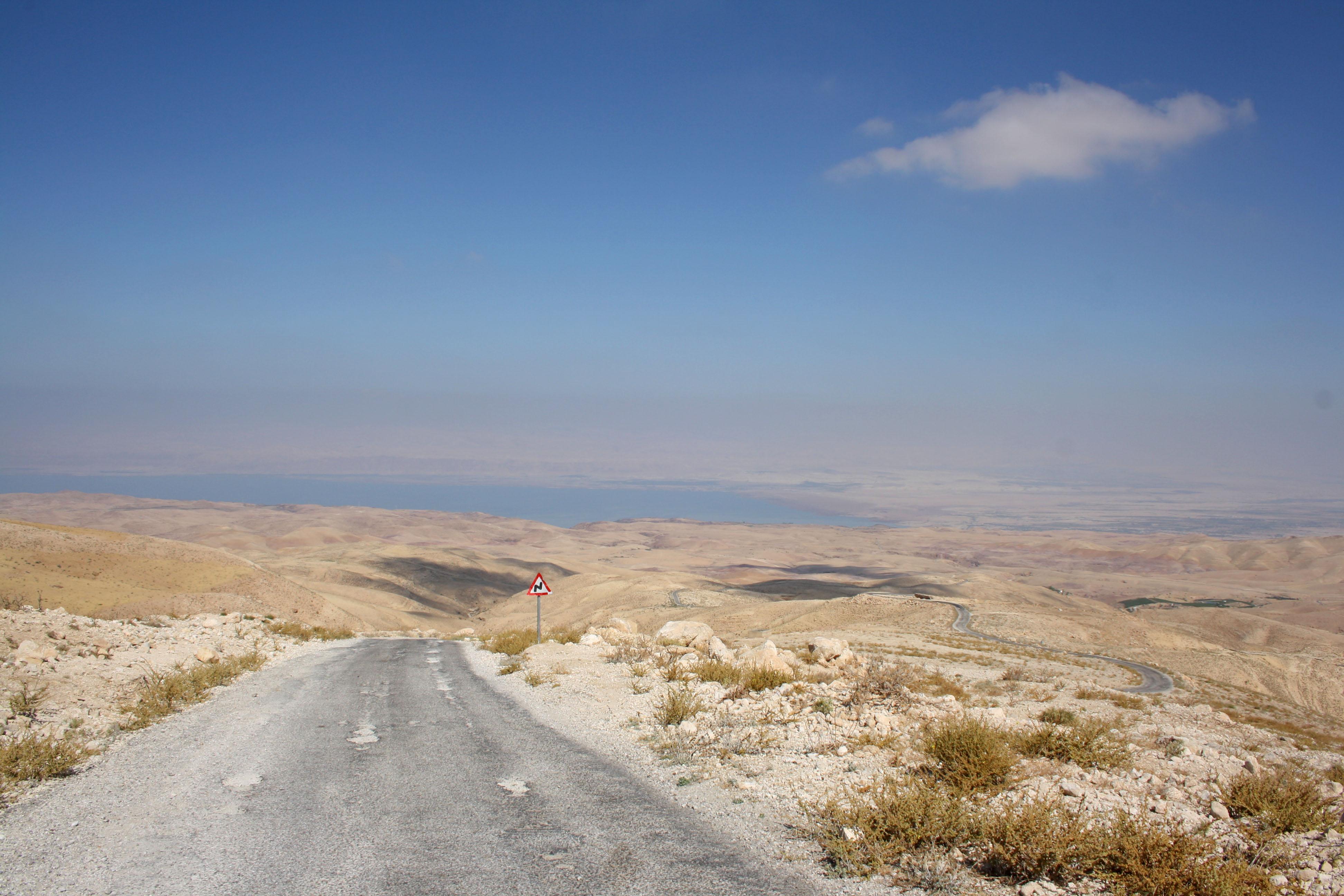 Giordania, vicino al Mar Morto