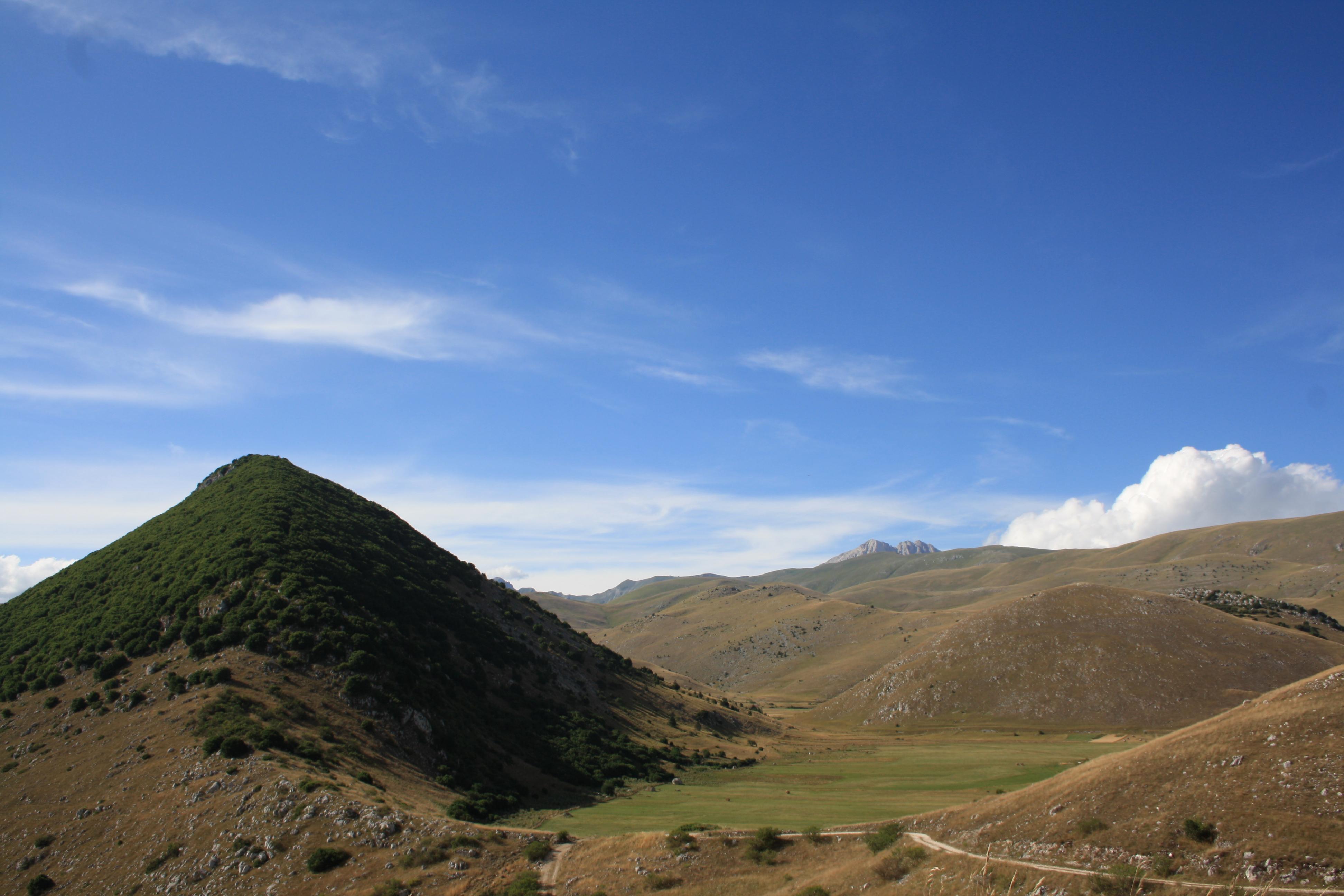 Il Parco Nazionale del Gran Sasso e Monti della Laga, vicino a Santo Stefano di Sessanio