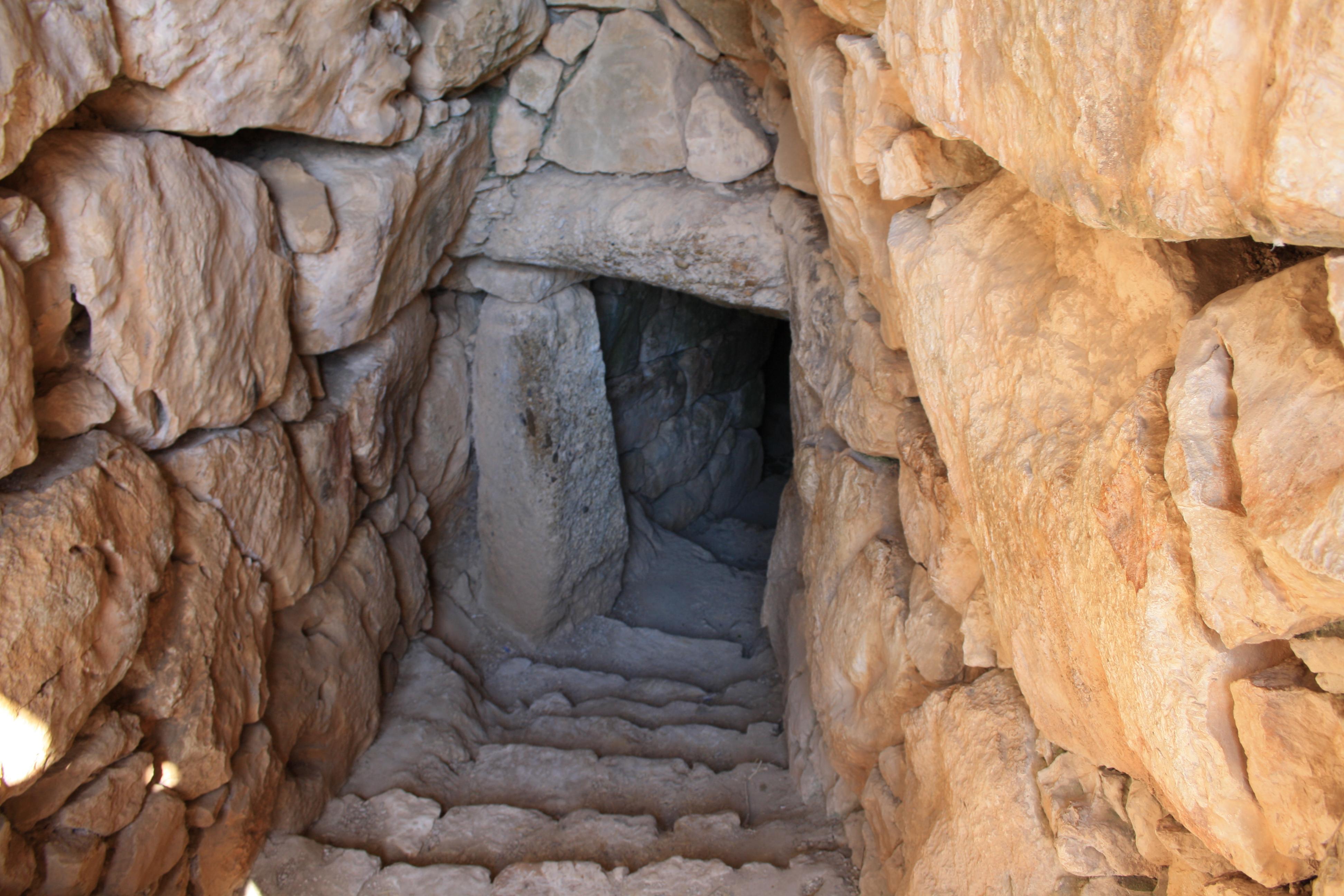 ingresso alla grande cisterna