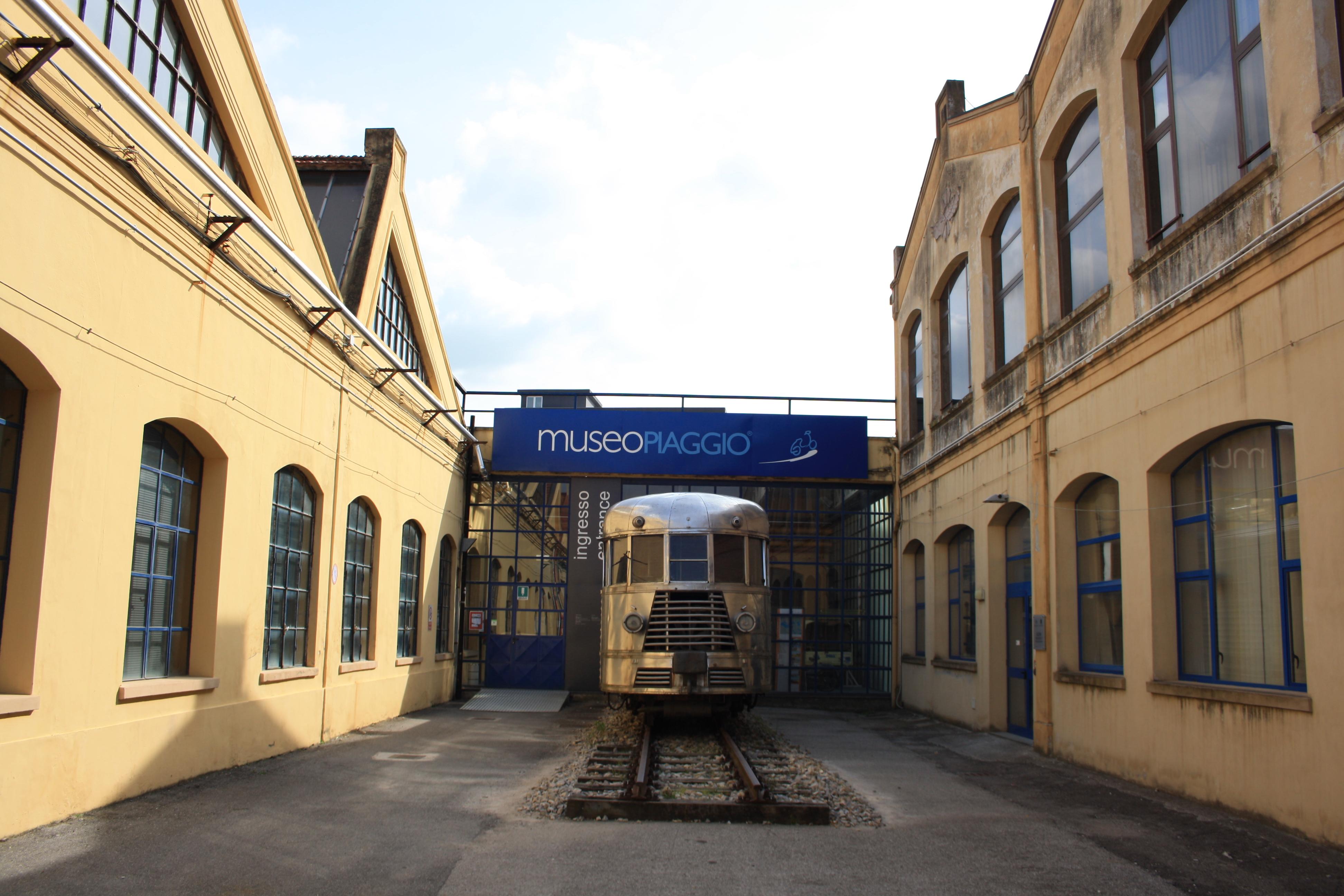 La locomotiva del 1926, Museo Piaggio