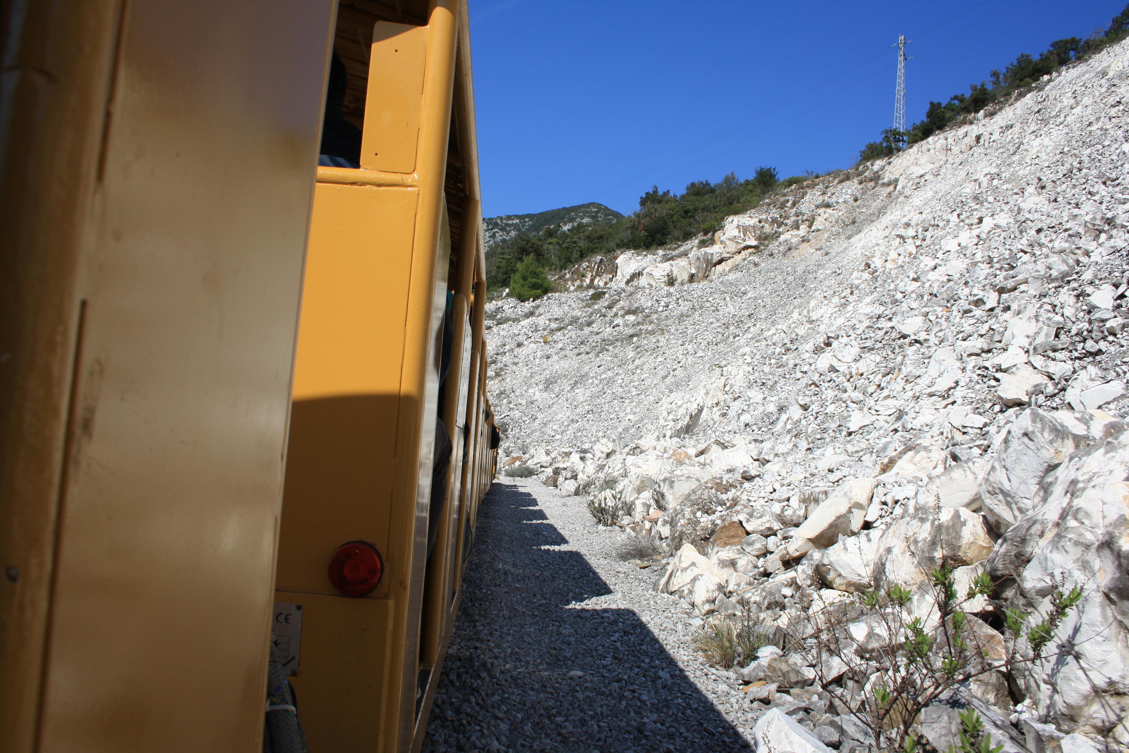 il trenino, Parco archeominerario di San Silvestro