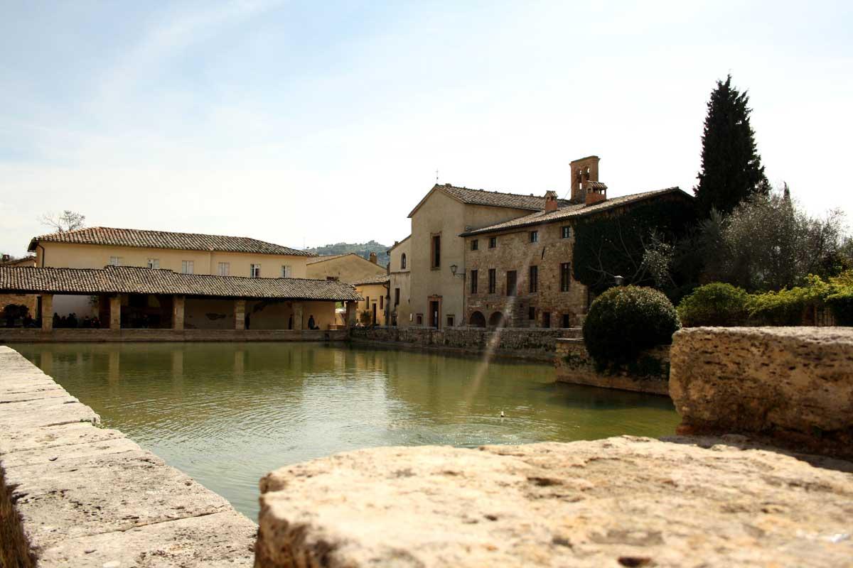 Le terme gratuite in Toscana, Bagno Vignoni