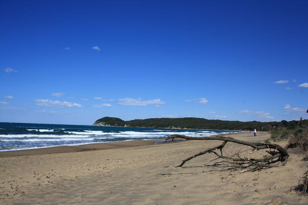 La spiaggia di Baratti
