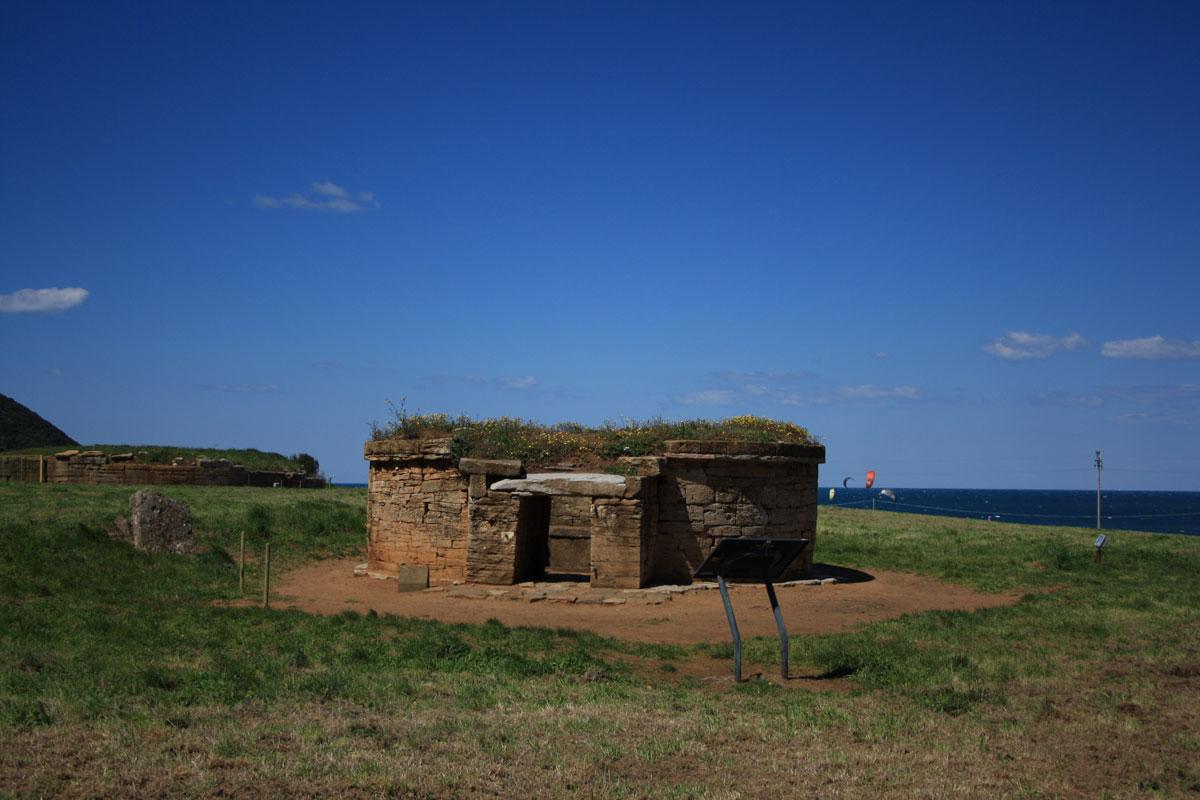 Tomba a Tumolo, Parco archeologico di Baratti