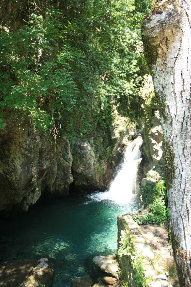 Le cascate di Candalla