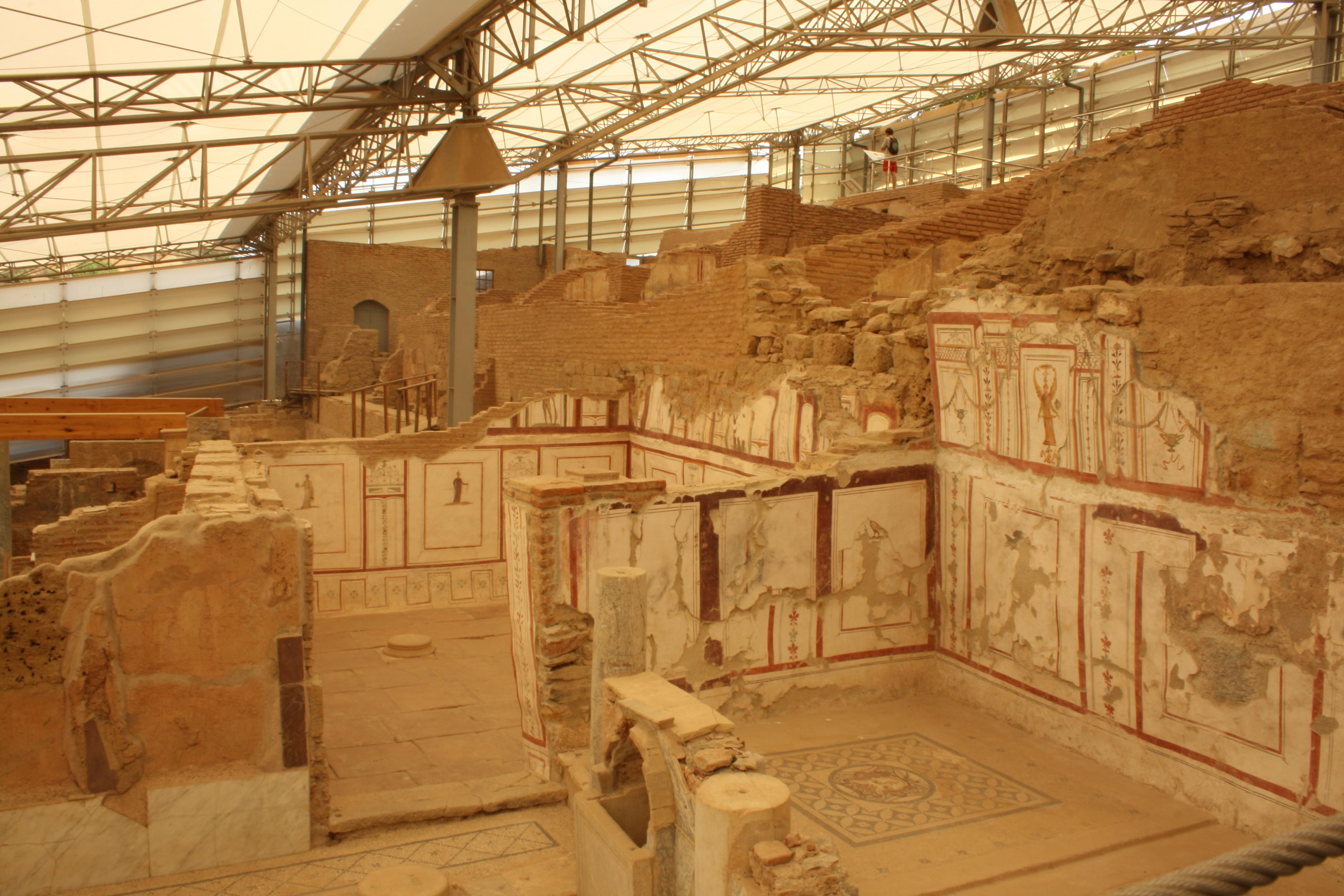 Le case - terrazze, Efeso