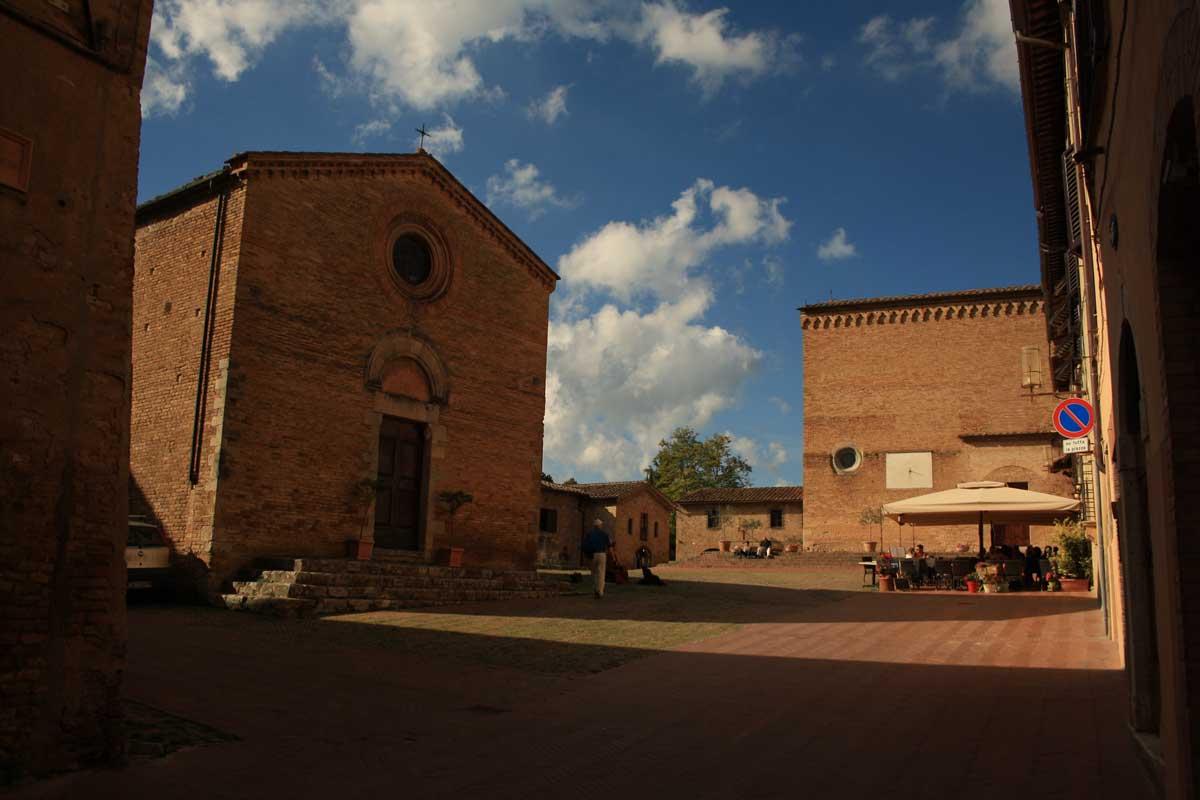 Piazza Sant'Agostino, San Gimignano