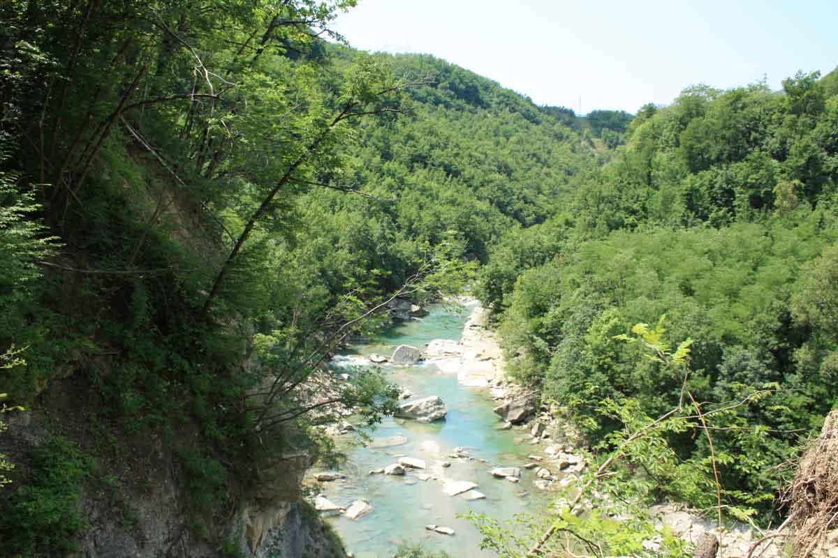 il fiume Santerno