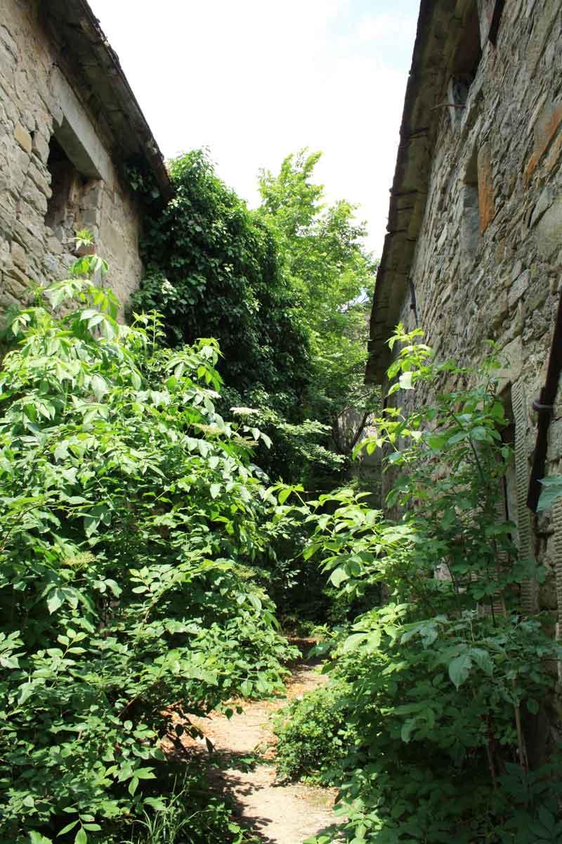 il borgo abbandonato di Castiglioncello