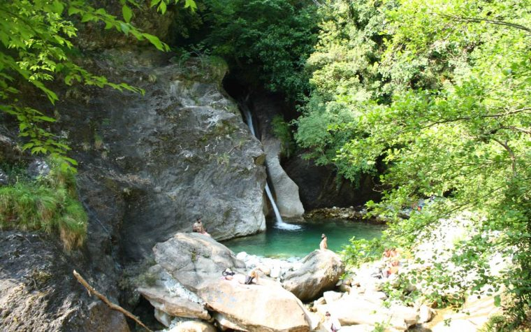 La cascata di Malbacco