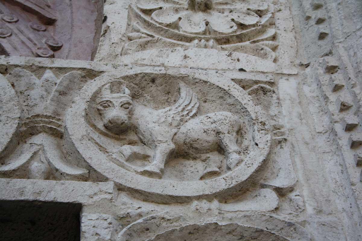 particolare, Assisi
