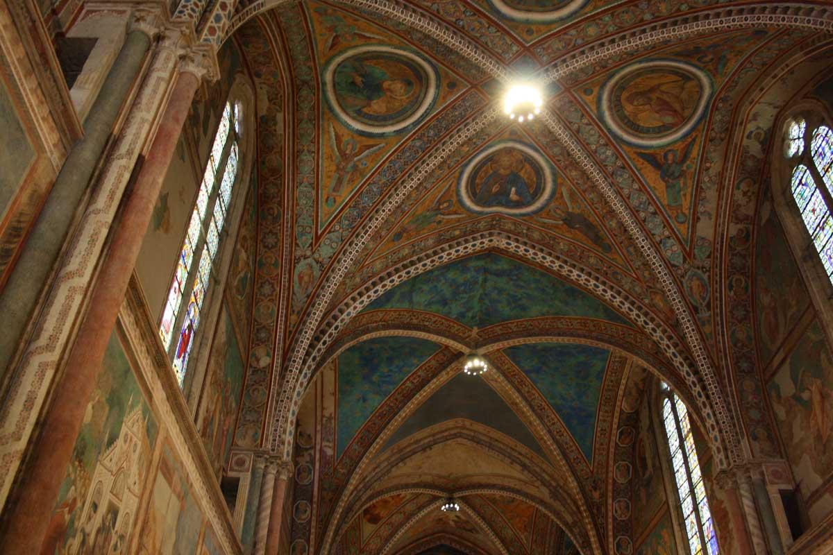 LA Basilica di san Francesco, Assisi