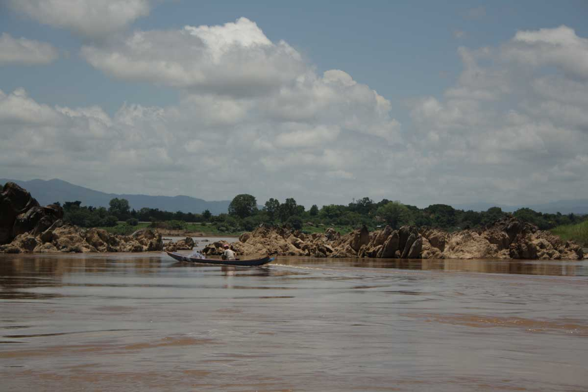 pescatore, Sul Mekong con la slow boat