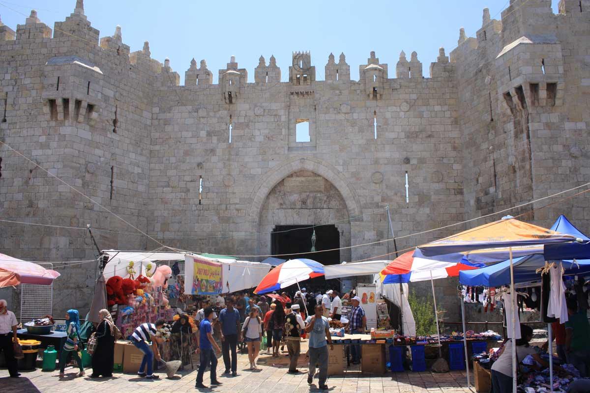 Porta di Damasco, Gerusalemme