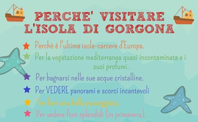 Perchè visitare l'isola di Gorgona