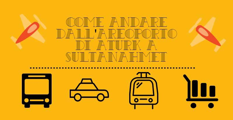 Dall'Aeroporto di Ataturk a Sultanahmet