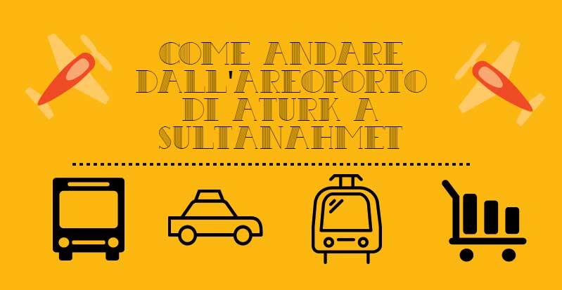 Andare dall'Aeroporto di Ataturk a Sultanahmet