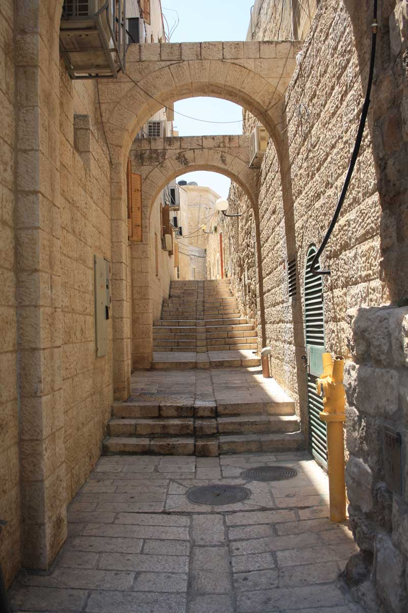 Vicolo a Gerusalemme