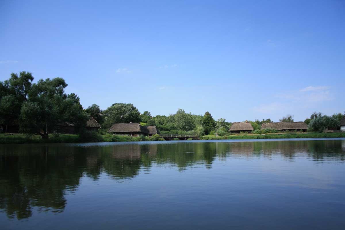 Vista lago, Skansen di Lublino