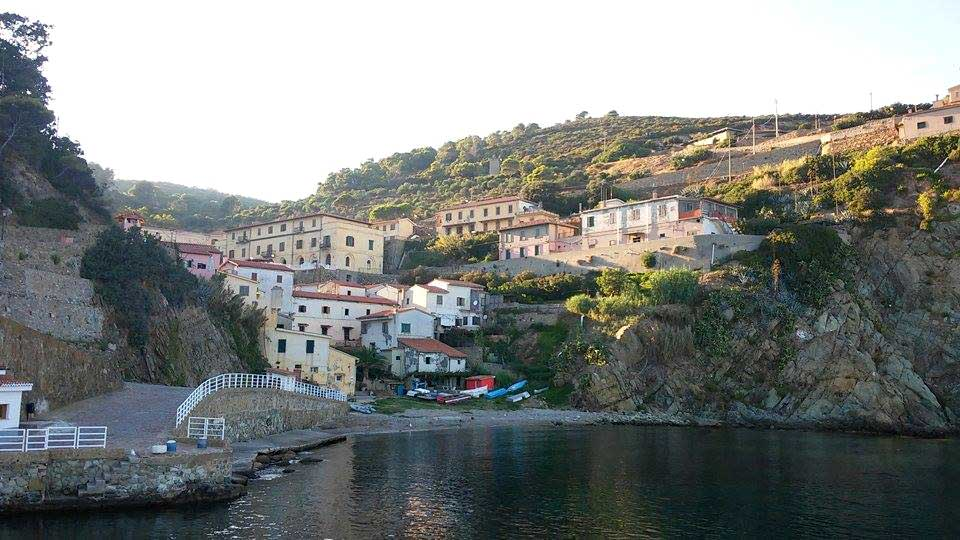Gorgona Scalo, Isola di Gorgona