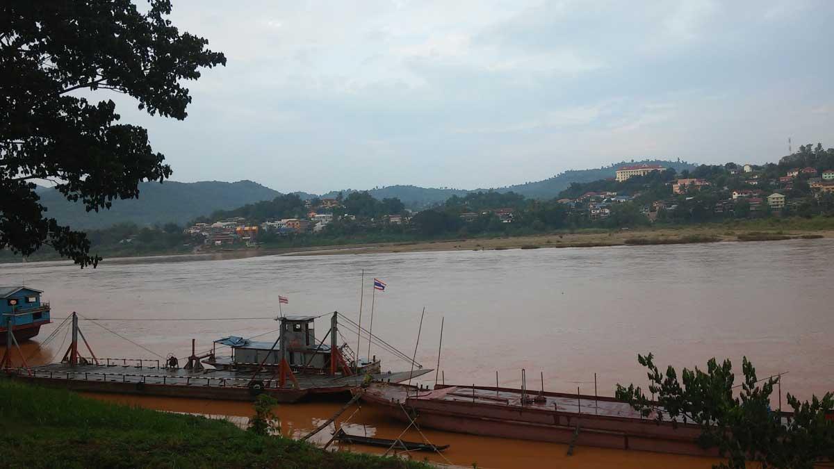 Mekong da Chiang Khong