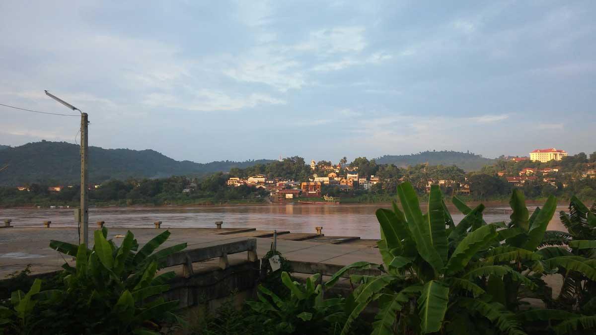 Huay Xai da Chiang Khong,