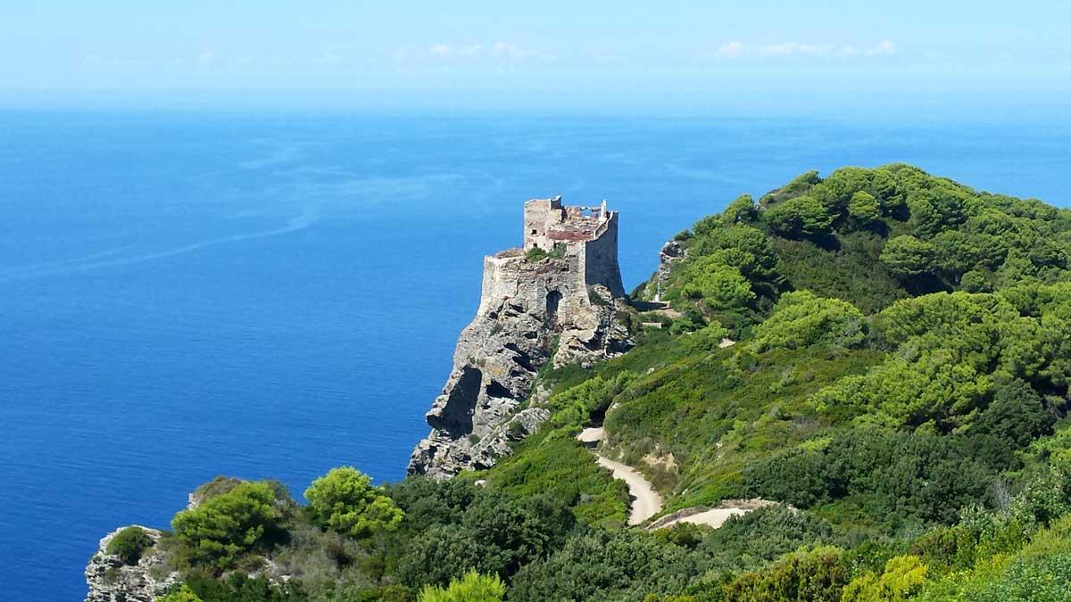 Torre vecchia, la fortezza dei pisani, Isola di Gorgona