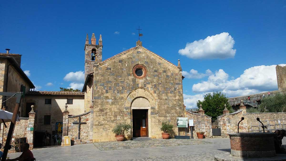 Chiesa di Santa Maria Assunta, Monteriggioni