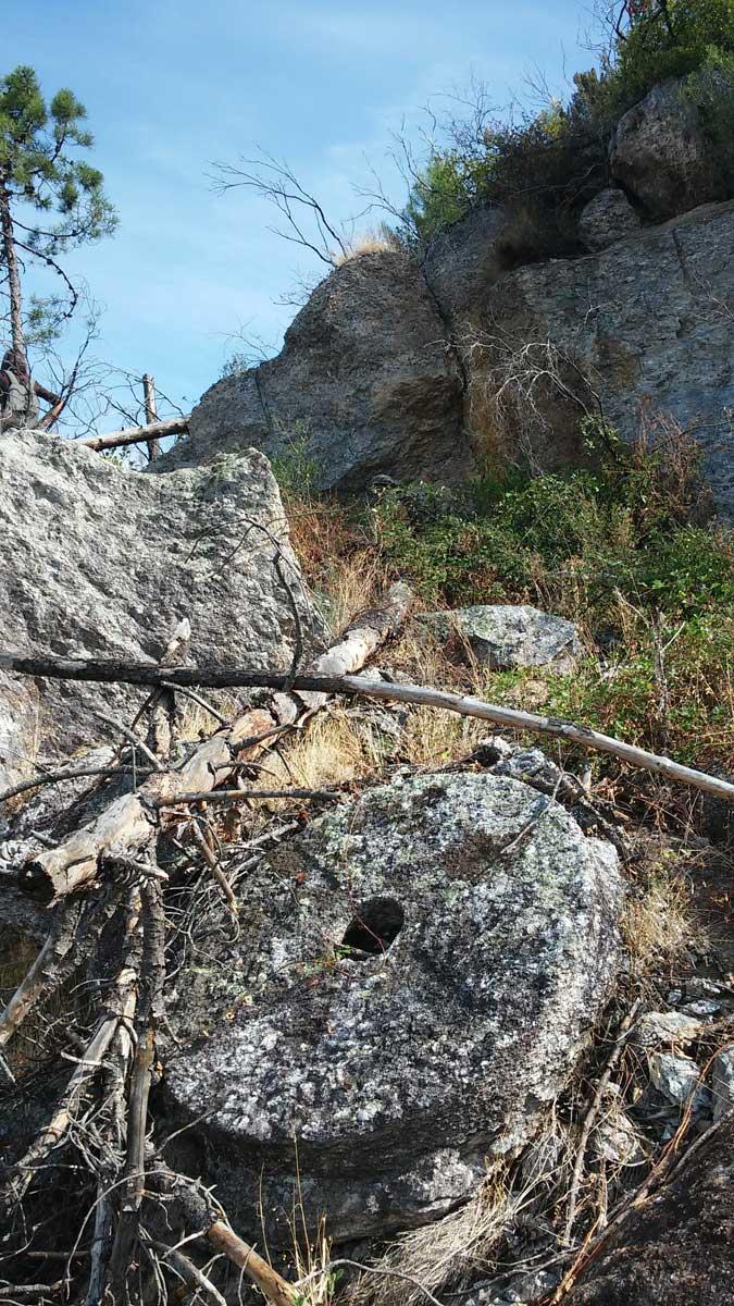 Una macina non terminata, trekking sui Monti Pisani